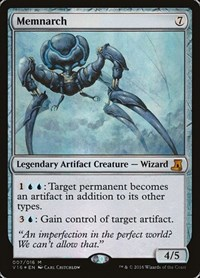 Memnarch, Magic: The Gathering, From the Vault: Lore