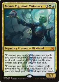 Momir Vig, Simic Visionary, Magic: The Gathering, From the Vault: Lore
