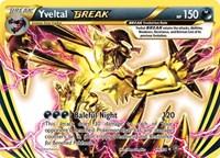 Yveltal BREAK, Pokemon, XY - Steam Siege