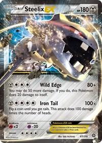 Steelix EX, Pokemon, XY - Steam Siege