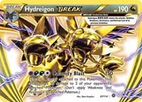Hydreigon BREAK, Pokemon, XY - Steam Siege