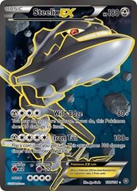 Steelix EX (Full Art), Pokemon, XY - Steam Siege