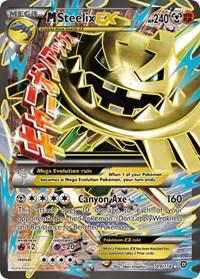 M Steelix EX (Full Art), Pokemon, XY - Steam Siege