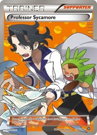 Professor Sycamore, Pokemon, XY - Steam Siege
