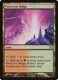 Pinecrest Ridge, Magic: The Gathering, Champions of Kamigawa