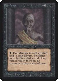 Pestilence, Magic: The Gathering, Alpha Edition