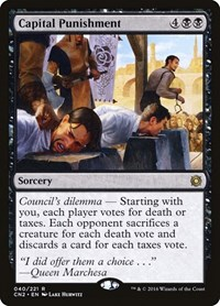 Capital Punishment, Magic: The Gathering, Conspiracy: Take the Crown