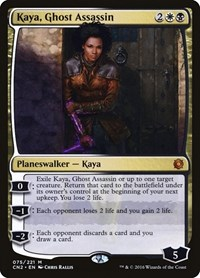 Kaya, Ghost Assassin, Magic: The Gathering, Conspiracy: Take the Crown