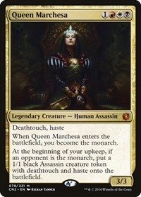 Queen Marchesa, Magic: The Gathering, Conspiracy: Take the Crown