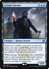 Arcane Savant, Magic: The Gathering, Conspiracy: Take the Crown