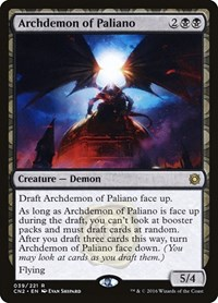 Archdemon of Paliano, Magic: The Gathering, Conspiracy: Take the Crown