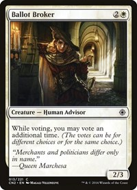 Ballot Broker, Magic: The Gathering, Conspiracy: Take the Crown