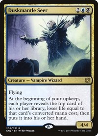 Duskmantle Seer, Magic: The Gathering, Conspiracy: Take the Crown