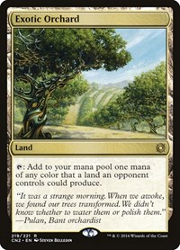 Exotic Orchard, Magic, Conspiracy: Take the Crown