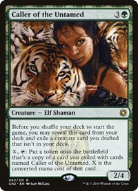 Caller of the Untamed, Magic: The Gathering, Conspiracy: Take the Crown
