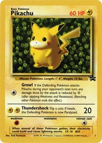 Pikachu, Pokemon, WoTC Promo