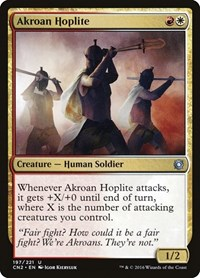 Akroan Hoplite, Magic, Conspiracy: Take the Crown