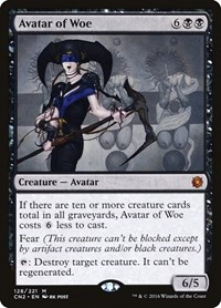 Avatar of Woe, Magic: The Gathering, Conspiracy: Take the Crown