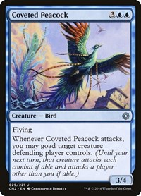 Coveted Peacock, Magic: The Gathering, Conspiracy: Take the Crown