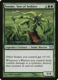 Sosuke, Son of Seshiro, Magic: The Gathering, Champions of Kamigawa