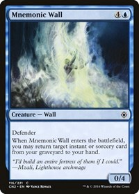 Mnemonic Wall, Magic: The Gathering, Conspiracy: Take the Crown