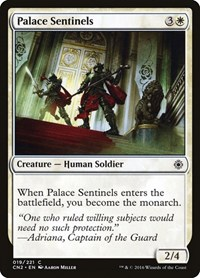 Palace Sentinels, Magic: The Gathering, Conspiracy: Take the Crown
