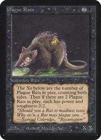 Plague Rats, Magic: The Gathering, Alpha Edition