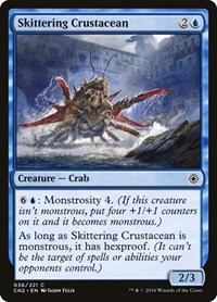 Skittering Crustacean, Magic: The Gathering, Conspiracy: Take the Crown