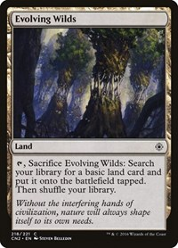 Evolving Wilds, Magic: The Gathering, Conspiracy: Take the Crown