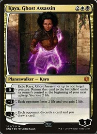 Kaya, Ghost Assassin (Alternate Art Foil) (Foil)