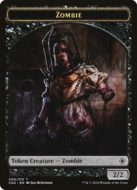 Zombie Token, Magic, Conspiracy: Take the Crown