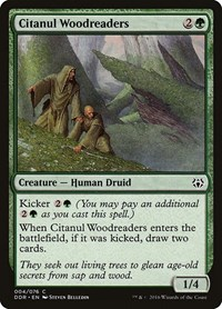 Citanul Woodreaders, Magic: The Gathering, Duel Decks: Nissa vs. Ob Nixilis