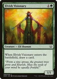 Elvish Visionary, Magic: The Gathering, Duel Decks: Nissa vs. Ob Nixilis