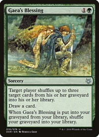Gaea's Blessing, Magic: The Gathering, Duel Decks: Nissa vs. Ob Nixilis