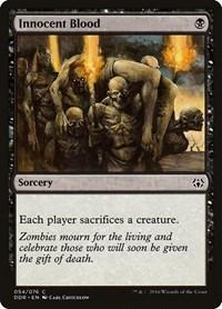 Innocent Blood, Magic: The Gathering, Duel Decks: Nissa vs. Ob Nixilis