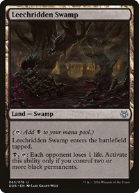 Leechridden Swamp, Magic: The Gathering, Duel Decks: Nissa vs. Ob Nixilis