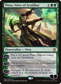 Nissa, Voice of Zendikar, Magic: The Gathering, Duel Decks: Nissa vs. Ob Nixilis