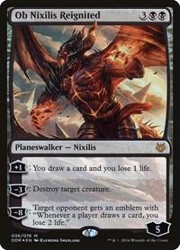 Ob Nixilis Reignited, Magic: The Gathering, Duel Decks: Nissa vs. Ob Nixilis