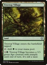 Treetop Village, Magic: The Gathering, Duel Decks: Nissa vs. Ob Nixilis