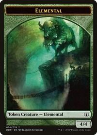 Elemental Token, Magic, Duel Decks: Nissa vs. Ob Nixilis