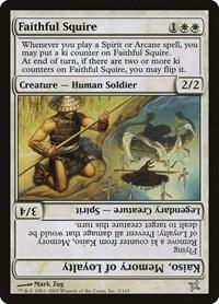 Faithful Squire, Magic: The Gathering, Betrayers of Kamigawa