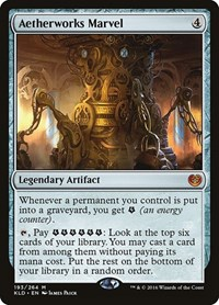 Aetherworks Marvel, Magic: The Gathering, Kaladesh