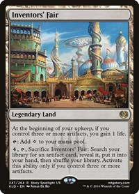 Inventors' Fair, Magic: The Gathering, Kaladesh