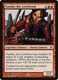 Fumiko the Lowblood, Magic: The Gathering, Betrayers of Kamigawa