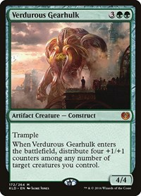Verdurous Gearhulk, Magic: The Gathering, Kaladesh