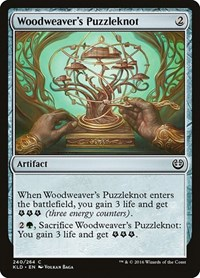 Woodweaver's Puzzleknot, Magic, Kaladesh