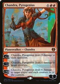 Chandra, Pyrogenius, Magic: The Gathering, Kaladesh
