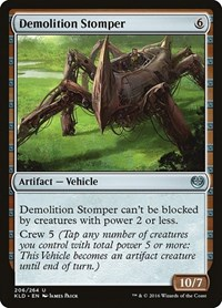Demolition Stomper, Magic: The Gathering, Kaladesh