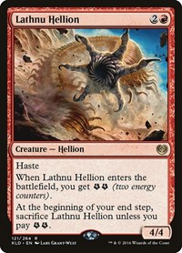 Lathnu Hellion, Magic, Kaladesh