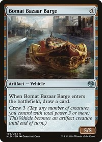 Bomat Bazaar Barge, Magic: The Gathering, Kaladesh